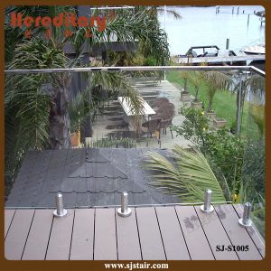 Glass Railing Outdoor / Glass Balustrade for Garden (SJ-S1005) pictures & photos