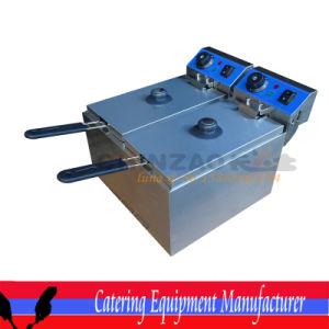 Double Electric Deep Fryers (DZL-082B) pictures & photos