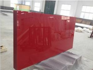 Red Painted Glass with Cat-I Safety Backing pictures & photos