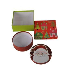Custom Printing Christmas Gift Storage Containers with Handle pictures & photos