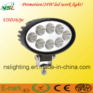 John Deere 4X4 LED Work Light, High Power LED Offroad Working Light, LED Driving for Cars Nsl-2408V-24W pictures & photos