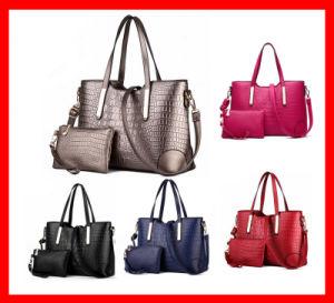 China Crossbody Bag, Clutch Bag Lady Black Handbag Bag Set
