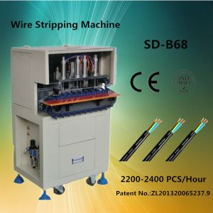 Automatic Power Cord Cable Wire Stripping Machine pictures & photos
