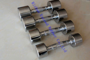 Gym Equipment Fitness Equipment Exercise Chrome Dumbbell
