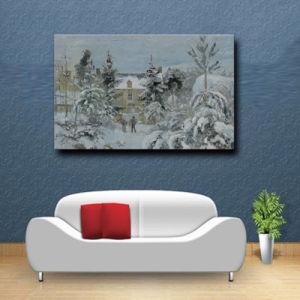 Wholesale High Quality Decoration Oil Painting, Home Decoration Painting, Art Painting (Chinese winter nature landscape) pictures & photos