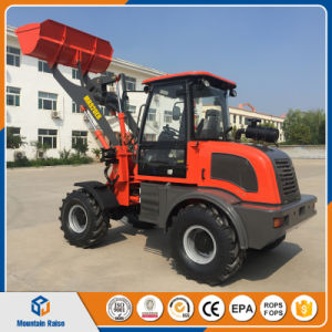 European Style Articulated Zl15 Mini Wheel Loader for Sale pictures & photos