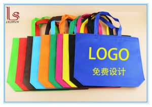 Wholesale Promotion Gift Advertisement Eco Cheap Non-Woven Bags Fast Delivery pictures & photos