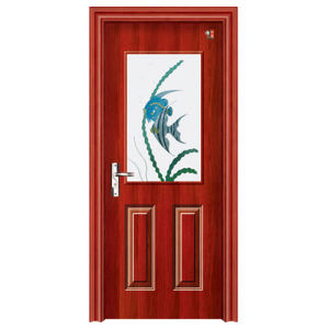 Interior Steel Wood Door, Bathroom Steel Wood Door pictures & photos