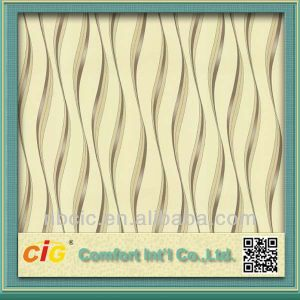 Wave Design Wall Paper Rolls pictures & photos