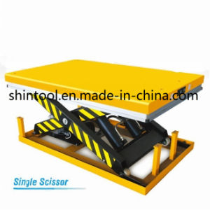 4000kg Stationary Lift Table Dg4001 (Customizable) pictures & photos