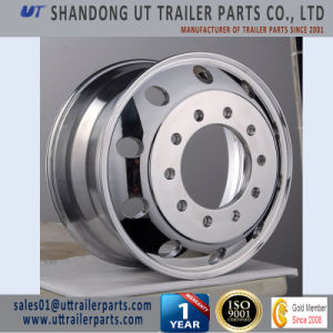 24.5′′ Polished Truck Aluminum Wheel Rim European & American Type pictures & photos