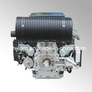 Air-Cooled Two Cylinder Gasoline Engine with Muffler (2V78F) pictures & photos