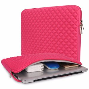 China Made Diamond Cover Style Neoprene Laptop Sleeve for MacBook Air pictures & photos