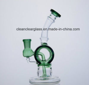 Ccg Wholesale Mini Barrel Shaped Glass Water Pipe Oil Rig pictures & photos