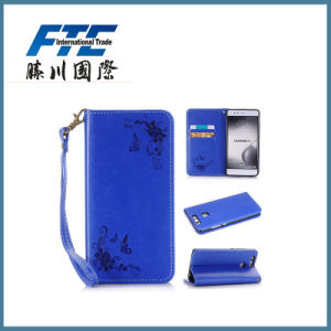 OEM Pattern PU Leather Phone Case for Huawei pictures & photos