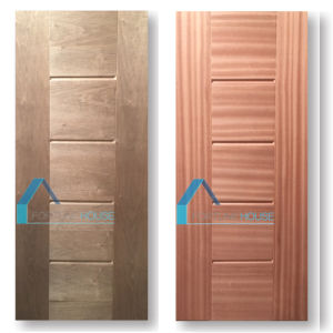 Plywood/ Veneer Molded/ Melamine HDF/ MDF Interior Wooden Door pictures & photos