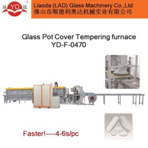 Glass Pot Lid Tempering Furnace CE Certificate pictures & photos
