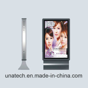 Advertising LED Aluminium Outdoor Street Road Solar Panel Battery Paper Light Box pictures & photos