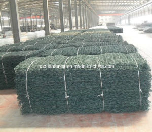 Customized 100X120mm Mesh Size Galvanised Wire Mesh River Gabion Mattress pictures & photos