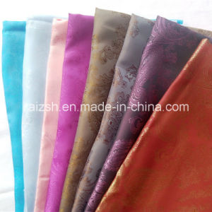 Jacquard Polyester Lining Fabric for Jacket / Coat pictures & photos