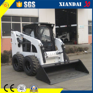 Multifunctional Mini Skid Steer Loader for Sale 800kg pictures & photos