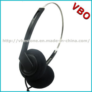 Latest Single Pin Headset Sports Lightweight Headset for Airplane pictures & photos