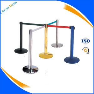 Stand Queue Pole, Crowd Control Posts, Stainless Steel Queue Pole pictures & photos