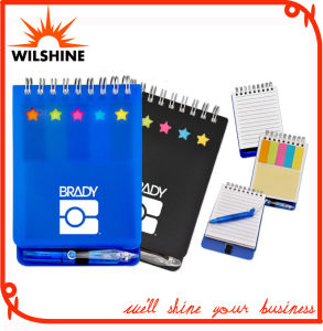 Customized PP Cover Spiral Notebook/Paper Note Pad for Promotion (PPN231) pictures & photos