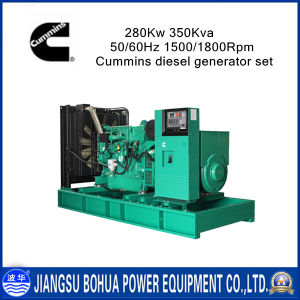 350kVA 3 Phases Low Noise Cummins Diesel Generator Set