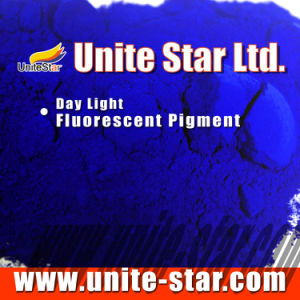 Day Light Fluorescent Pigment Sapphire for Textile Printing Color Paste pictures & photos