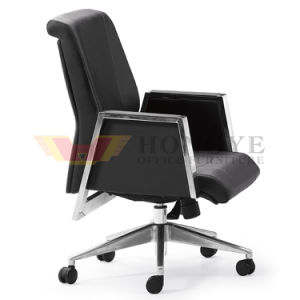 Chairman Black Swivel Adjustable Office Leather Chair (HY-1909B) pictures & photos