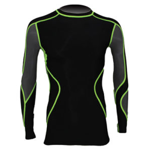 Men Fitness Long Sublimated Running Wear Arc04 pictures & photos