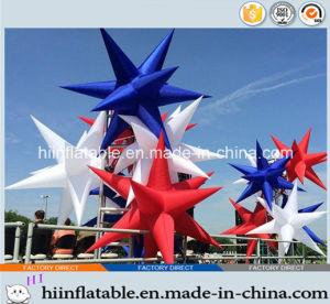 2015 Hot Selling Decorative LED Lighting Inflatable Star 0033 for Event, Celebration