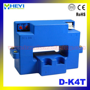 Clip on Current Sensor (D-K4T) Hall Effect Current Sensor Transducer pictures & photos