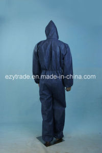 Hot Sale Waterproof Disposable Protective Coverall for Factory Uniform pictures & photos