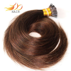 I-Tip Prebonded Human Hair Extension Real Remy Brazilian Hair pictures & photos