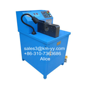 5/8 Inch Hydraulic Hose Crimping Machine Equals to Finn Power pictures & photos