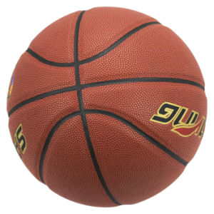 PU Hygroscopic Laminated Basketball pictures & photos