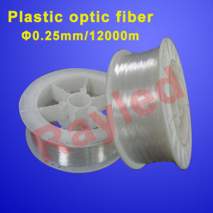 0.25mm 12000m/Roll Plastic Optic Fiber