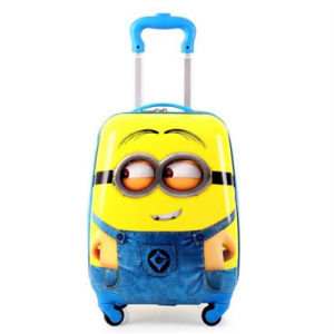 The Small Yellow Rod Box 18 Inch Universal Wheel Small Yellow Man 3D Cartoon Pattern Pull Rod Activities (GB#1102) pictures & photos