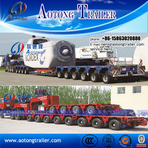 Multi Axle Lines Hauling Hydraulic Heavy Machine Modular Transporter Spmt pictures & photos