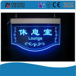Painting and Screen Printing Acrylic Toilet Sign pictures & photos