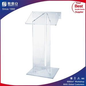 Clear Custom Acrylic Podium for Sale pictures & photos