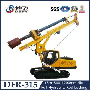 Efficient Rotary Pile Foundation Drilling Rig for 15m pictures & photos