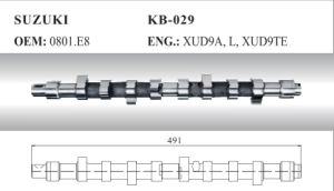 Auto Camshaft for Suzuki (0801. E8) pictures & photos