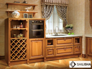 Modern Caribbean Home Hotel Furniture Island Wood Kitchen Cabinet pictures & photos