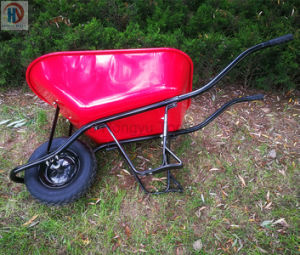 Good Quality Paint Wheelbarrow Wheel Barrow pictures & photos
