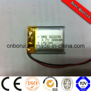 Borui Rechargeable 3.7V 420mAh Lithium Polymer Battery for Power Tools PDA DMB DVD Portable DVD MID pictures & photos
