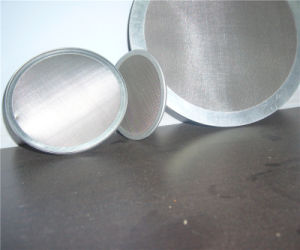 Stainess Steel Woven Wire Mesh Filter Disc for Water & Oil Treatment pictures & photos