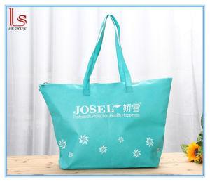 Wholesale Logo Women Non Woven Casual Big Messenger Shoulder Bag pictures & photos